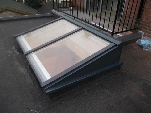 daglichtbuis plat dak